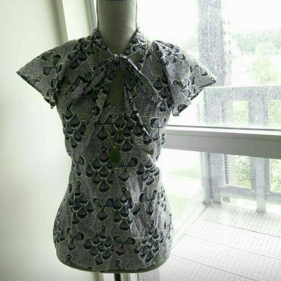 French Connection Tops - Printed Blouse